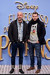 Arnaud Maillard and Alvaro Castejon attends to Mary Poppins Returns film premiere at Kinepolis in Pozuelo de Alarcon, Spain. December 11, 2018. (ALTERPHOTOS/A. Perez Meca)