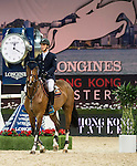 Olivier Philippaerts of Belgium riding Cabrio van de Heffinck in action during the Longines Grand Prix as part of the Longines Hong Kong Masters on 15 February 2015, at the Asia World Expo, outskirts Hong Kong, China. Photo by Victor Fraile / Power Sport Images