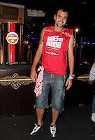 SAO PAULO, SP, 19 DE FEVEREIRO 2012 - CAMAROTE BAR BRAHMA - O jogador do Corinthians Danilo e visto no Camarote Bar Brahma, no primeiro dia de desfiles do Grupo Especial do Carnaval de Sao Paulo, na madrugada deste domingo 19, no Sambodromo do Anhembi regiao norte da capital paulista. (FOTO: MILENE CARDOSO - BRAZIL PHOTO PRESS).
