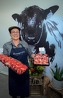 Pip Hannon of Homegrown Butchery in Masterton, New Zealand on Friday, 4 August 2020. Photo: Dave Lintott / lintottphoto.co.nz