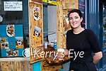 Clodagh Dermody at her new Coffee and Waffle take away restaurant Hugga Mugga in Killarney on Saturday
