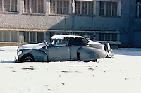The King Lincolm in the courtyard of the Afghan Kabul National museum in December 1982