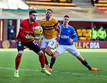 17.01.2021 Motherwell v Rangers: Liam Kelly saves