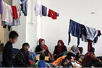 2016 02 26 Refugees at the Elliniko camp, Athens, Greece
