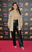 """Imogen Thomas at the """"Tina: The Tina Turner Musical"""" Refuge gala performance, Aldwych Theatre, Aldwych, on Sunday 10th October 2021, in London, England, UK. <br /> CAP/CAN<br /> ©CAN/Capital Pictures"""