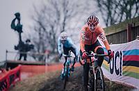 Lucinda Brand (NED)<br /> <br /> Women's Elite race<br /> <br /> UCI 2019 Cyclocross World Championships<br /> Bogense / Denmark<br /> <br /> ©kramon