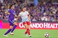 Orlando, FL - Saturday August 05, 2017: Marta Vieira Da Silva, Vanessa DiBernardo during a regular season National Women's Soccer League (NWSL) match between the Orlando Pride and the Chicago Red Stars at Orlando City Stadium.
