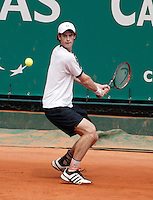 18-4-06, Monaco, Tennis,Master Series, Murray in action against Lisnard