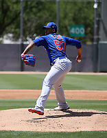 Yovanny Cruz - Chicago Cubs 2021 spring training (Bill Mitchell)