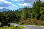 The Gogubeli Pass, the highest point of the Tour of Turkey, during Stage 3 of the 2015 Presidential Tour of Turkey running 165.3km from Kemer to Elmali. 27th April 2015.<br /> Photo: Tour of Turkey/Steve Thomas/www.newsfile.ie