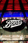 Boots store in Oxford Street.