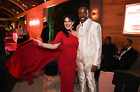 BEVERLY HILLS - JANUARY 5: (L-R) THE POLITICIAN Executive Producer Alexis Martin Woodall and FX's POSE cast member Billy Porter attend The Walt Disney Company 2020 Golden Globe Awards Nominee Celebration at The Disney Terrace on the Roof Deck at the Beverly Hilton on January 5, 2020 in Beverly Hills, California. (Photo by Frank Micelotta/The Walt Disney Company/PictureGroup)