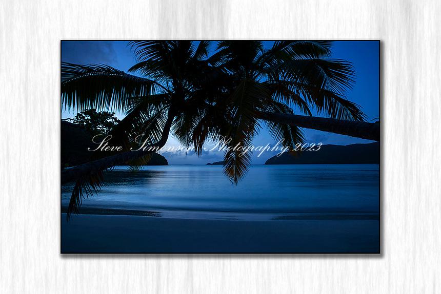 Silky Dusk<br /> Maho Bay<br /> St. John<br /> Virgin Islands