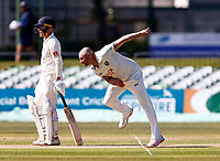Darren Stevens bowls for Kent during Kent CCC vs Lancashire CCC, LV Insurance County Championship Group 3 Cricket at The Spitfire Ground on 23rd April 2021