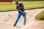 Thongchai Jaidee of Thailand fights a bunker during the 58th UBS Hong Kong Golf Open as part of the European Tour on 09 December 2016, at the Hong Kong Golf Club, Fanling, Hong Kong, China. Photo by Marcio Rodrigo Machado / Power Sport Images