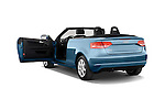 Rear three quarter door view of a 2003 - 2012 Audi A3 Attraction 2-Door Convertible.