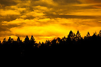 """KOOTENAI SUNDOWN""<br />