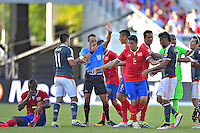 Action photo during the match Costa Rica vs Paraguay, Corresponding Group -A- America Cup Centenary 2016, at Citrus Bowl Stadium<br /> <br /> Foto de accion durante el partido Estados Unidos vs Colombia, Correspondiante al Grupo -A-  de la Copa America Centenario USA 2016 en el Estadio Citrus Bowl, en la foto: Arbitro Patricio Loustau<br /> <br /> <br /> <br /> 04/06/2016/MEXSPORT/Isaac Ortiz.