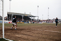 General view of the ground ahead of Kidderminster Harriers vs West Ham United, FA Cup Football at the Aggborough Stadium on 19th February 1994