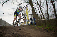 Christine 'Peanut' Vardaros (USA)<br /> <br /> Vlaamse Druivencross Overijse 2013