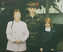 05/11/2004  Copyright Pic : James Stewart.File Name : jspa04_scott_mcardle.COLLECT PIC OF OF BLACK WATCH SOLDIER PRIVATE SCOTT MCARDLE WHO WAS KILLED IN IRAQ... HE IS PICTURED WITH GRAN MARGARET MCARDLE AND SISTER SANDY AT HIS PASS OUT PARADE AT CATTERICK......Payments to :.James Stewart Photo Agency 19 Carronlea Drive, Falkirk. FK2 8DN      Vat Reg No. 607 6932 25.Office     : +44 (0)1324 570906     .Mobile  : +44 (0)7721 416997.Fax         :  +44 (0)1324 570906.E-mail  :  jim@jspa.co.uk.If you require further information then contact Jim Stewart on any of the numbers above.........