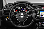 Car pictures of steering wheel view of a 2016 Volkswagen Touran Highline 5 Door Mini Mpv Steering Wheel
