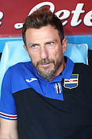 Eusebio Di Francesco coach of Sampdoria looks on<br /> Napoli 14-9-2019 Stadio San Paolo <br /> Football Serie A 2019/2020 <br /> SSC Napoli - UC Sampdoria<br /> Photo Cesare Purini / Insidefoto