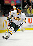 9 January 2009: University of Vermont Catamounts' forward Viktor Stalberg, a Junior from Gothenburg, Sweden, in action during the first game of a weekend series against the Boston College Eagles at Gutterson Fieldhouse in Burlington, Vermont. The Catamounts scored with one second remaining in regulation time to earn a 3-3 tie with the visiting Eagles. Mandatory Photo Credit: Ed Wolfstein Photo