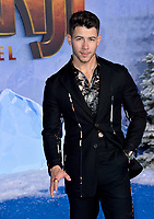 "LOS ANGELES, USA. December 10, 2019: Nick Jonas at the world premiere of ""Jumanji: The Next Level"" at the TCL Chinese Theatre.<br /> Picture: Paul Smith/Featureflash"