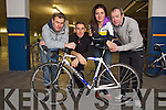 Pictured at the Cycling Ireland 'Sprocket Rocket' Coaches Training Day in the Manor West Hotel on Saturday are from left: Paul Griffin, Cian Hogan, Joanna Hickey and Pat O'Hara.