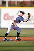 May 30, 2009:  Second Baseman Scott Sizemore of the Erie Seawolves during a game at Jerry Uht Park in Erie, PA.  The Seawolves are the Double-A Eastern League affiliate of the Detroit Tigers.  Photo By Mike Janes/Four Seam Images