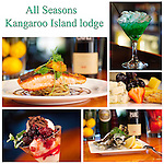 Some of the best food on Kangaroo Island American river all seasons lodge