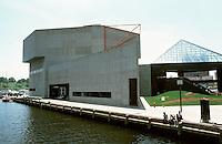Baltimore:  #12.  Inner Harbor--Aquarium 1979-80.  Cambridge Seven, Architects.  Photo '85.