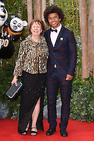 """Radzi Chinyanganya<br /> arriving for the """"Kung Fu Panda 3"""" European premiere at the Odeon Leicester Square, London<br /> <br /> <br /> ©Ash Knotek  D3093 06/03/2016"""