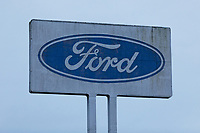 2020 02 19 Ford factory closure in Bridgend in south Wales, UK