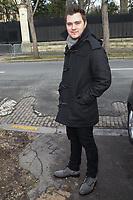 JEFF PANACLOC - DEPART DES INVITES DU STUDIO GABRIEL APRES L'ENREGISTREMENT DE L'EMISSION 'VIVEMENT DIMANCHE', PARIS, FRANCE, LE 24/01/2018.