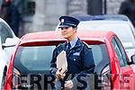 Garda Caroline Hennessey at Kenmare Court on Friday.