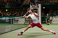 Rotterdam, The Netherlands, 16 Februari 2019, ABNAMRO World Tennis Tournament, Ahoy, Semis, Doubles, Marcel Granollers (ESP),<br /> Photo: www.tennisimages.com/Henk Koster