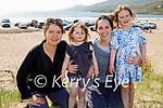 Enjoying a stroll in Inch beach on Saturday, l to r: Nora McKenna, Sabrina, Lucy and Minnie Foley.