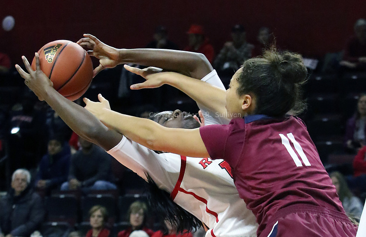 Rutgers Women's Basketball takes on FDU at the RAC in Piscataway on Sunday December 10,2017<br /> (MARK R. SULLIVAN/markrsullivan.com)