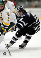"5 January 2007: University of New Hampshire forward Jacob Micflikier (9) from Winnipeg, MB, in action against the University of Vermont Catamounts at Gutterson Fieldhouse in Burlington, Vermont. The UNH Wildcats defeated Vermont 7-1 in front of a record setting 48th consecutive sellout at ""the Gut""...Mandatory Photo Credit: Ed Wolfstein Photo.<br />"
