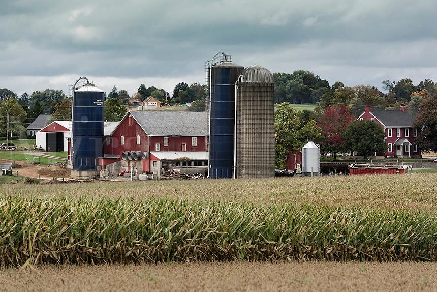 Farm in Lancaster County, Pennsylvania, USA