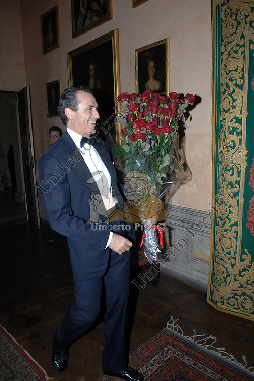 FERDINANDO BRACHETTI PERETTI<br /> COMPLEANNO DIZZY ALFONS  - PALAZZO SACCHETTI ROMA 2008