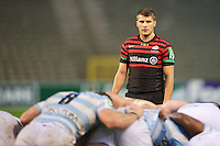 20121020 Copyright onEdition 2012©.Free for editorial use image, please credit: onEdition..Richard Wigglesworth of Saracens looks on during the Heineken Cup Round 2 match between Saracens and Racing Metro 92 at the King Baudouin Stadium, Brussels on Saturday 20th October 2012 (Photo by Rob Munro)..For press contacts contact: Sam Feasey at brandRapport on M: +44 (0)7717 757114 E: SFeasey@brand-rapport.com..If you require a higher resolution image or you have any other onEdition photographic enquiries, please contact onEdition on 0845 900 2 900 or email info@onEdition.com.This image is copyright the onEdition 2012©..This image has been supplied by onEdition and must be credited onEdition. The author is asserting his full Moral rights in relation to the publication of this image. Rights for onward transmission of any image or file is not granted or implied. Changing or deleting Copyright information is illegal as specified in the Copyright, Design and Patents Act 1988. If you are in any way unsure of your right to publish this image please contact onEdition on 0845 900 2 900 or email info@onEdition.com