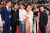 "David Walliams, Ant McPartlin, Simon Cowell, Ant McPartlin Amanda Holden, Alesha Dixon and Declan Donnelley<br /> arrives to film for ""Britain's Got Talent"" 2017 at the Palladium, London.<br /> <br /> <br /> ©Ash Knotek  D3222  29/01/2017"
