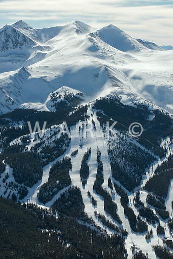 Breckenridge Ski area. Peak 10. Falcon lift. March 2014