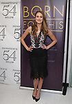 """Maddie Shea Baldwin backstage after a Song preview performance of the Bebe Winans Broadway Bound Musical """"Born For This"""" at Feinstein's 54 Below on November 5, 2018 in New York City."""