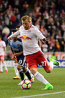 Harrison, NJ - Wednesday Feb. 22, 2017: Daniel Royer during a Scotiabank CONCACAF Champions League quarterfinal match between the New York Red Bulls and the Vancouver Whitecaps FC at Red Bull Arena.