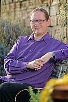 Author PJ Jem Vanston at his home in Swansea, Wales, UK. Thursday 15 November 2018
