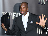 NEW YORK CITY, NY, USA - DECEMBER 03: J. B. Smoove arrives at the New York Premiere Of 'Top Five' held at the Ziegfeld Theatre on December 3, 2014 in New York City, New York, United States. (Photo by Celebrity Monitor)